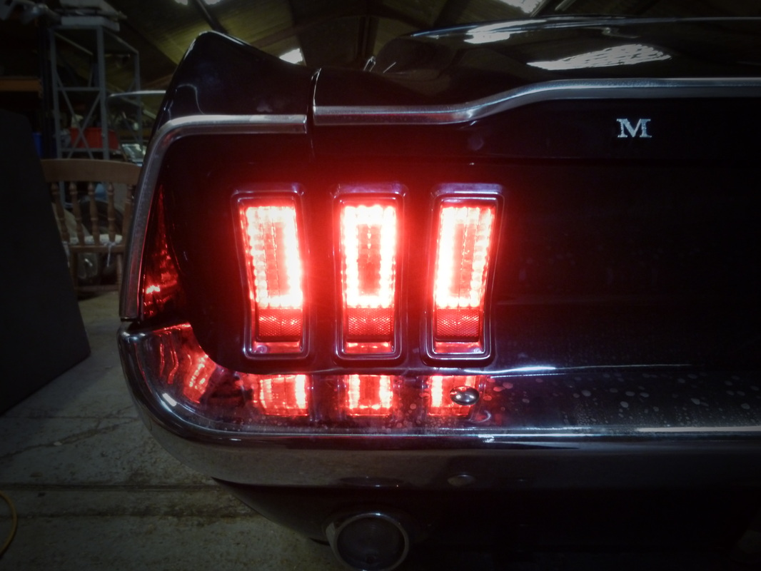 1967 Mustang Led Tail Light Install Brightlightcustoms