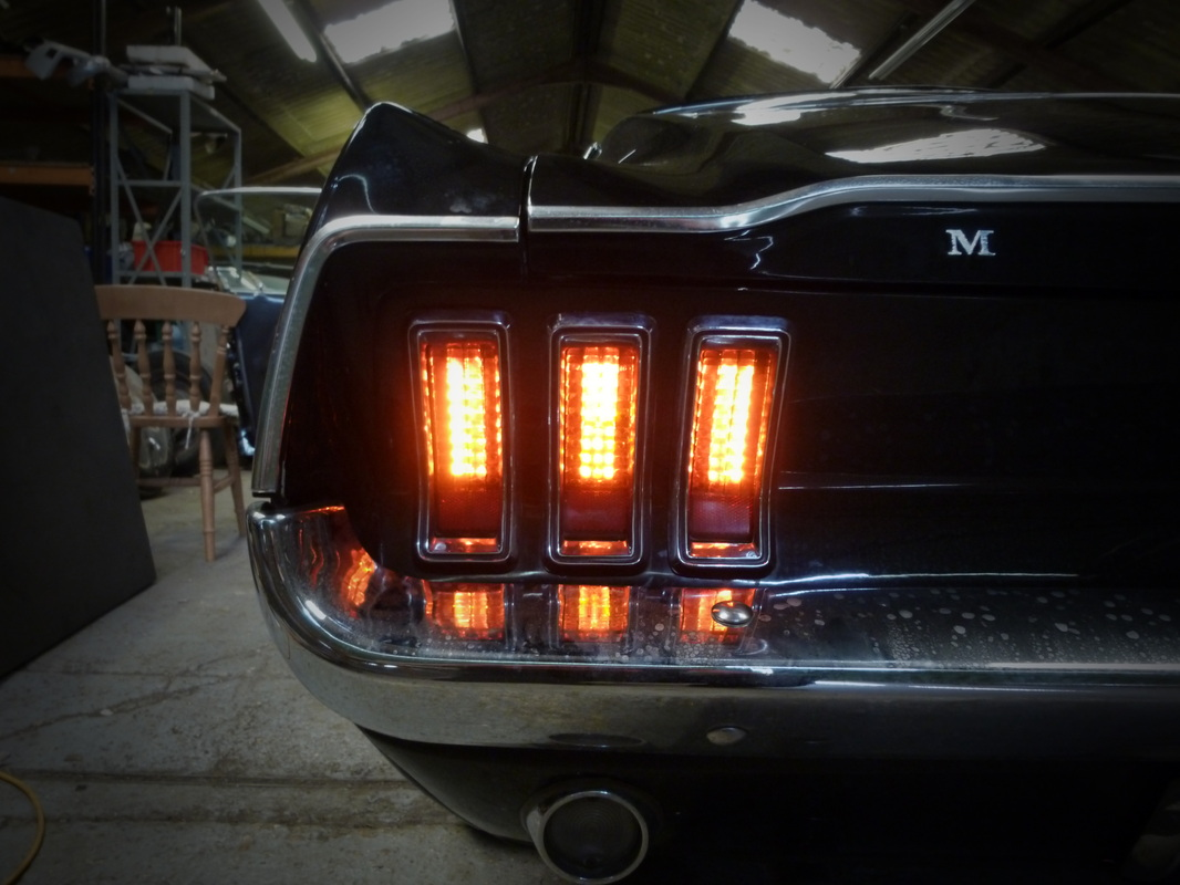 1967 Mustang Led Tail Light Install